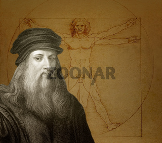 Leonardo da Vinci, The Vitruvian Man