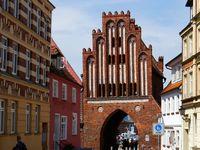Town Gate in Oldtown of Wismar