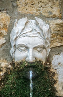 Old fountain in Mougins