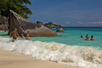 dream beach on the Similan Islands, Thailand