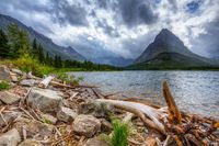 Swiftcurrent Lake, Glacier NP, Montana, USA