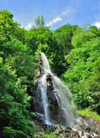 Waterfall of Trusetal,Thuringia,Germany