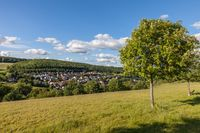 Village of Engenhahn in the Taunus mountains