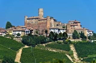 Castiglione Falletto, Piemont, Italien