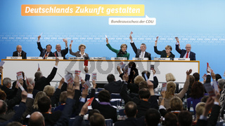 CDU say Yes to the coalition Contract.