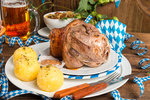 Schweinshaxe - pork knuckle on Bavarian