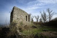 Ruine der ehemaligen Ursulakapelle auf dem Mägdeberg