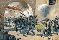 Battle of Bazeilles on 1 September 1870, Sedan, Franco-Prussian War
