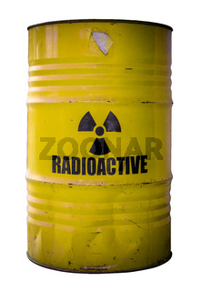 Barrel Of Nuclear Waste
