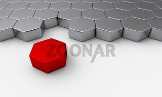 Der rote Baustein aus der Reihe
