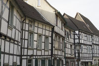 Historical Buildings, Churchplace, Hattingen, Germ