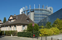 European Parliament building, Strasbourg,France