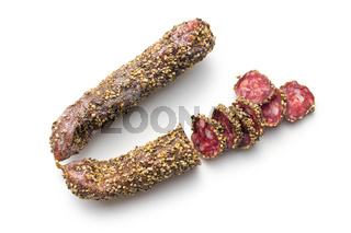 dried sausage with peppercorn