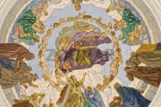 Domkuppel Deckengemälde Dom St.Blasien Schwarzwald