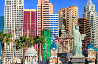 New York - New York hotel and casino, Las Vegas Nevada