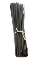 Black dry spaghetti