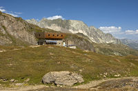 Capanna Corno Gries refuge, Ticino, Switzerland