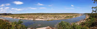 landscape at Olifants at Kruger National Park, SA