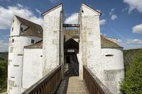 Die Burg Wildenstein im oberen Donautal