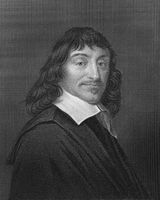 René Descartes, 1596 - 1650, French philosopher