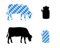 Bayerische Milchkuh - Bavarian milk cow