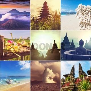 Indonesia collage
