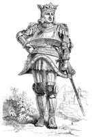 Rudolf I or Rudolf of Habsburg, 1218 - 1291, King of the Romans