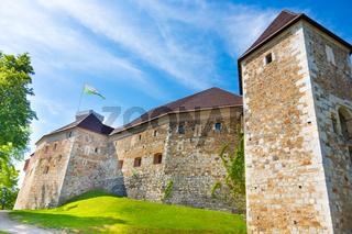 Ljubljana castle, Slovenia, Europe.