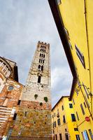Bell tower in Lucca