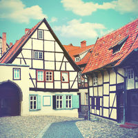 Old street in Germany