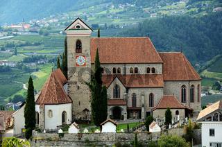 Pfarrkirche in Schenna Suedtirol