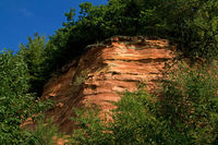 Red Sandstone, Bildstock, Saarland, Germany