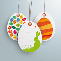 3 Easter Offer White Price Sticker ltd Time PiAd