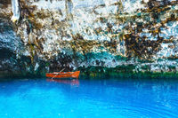 Melissani Lake (Kefalonia, Greece)