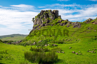 Das Fairy Glen auf der Isle of Skye