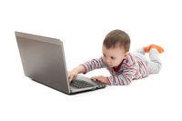 child push button on laptop