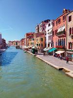 Canal Cannaregio in Venice, Italy