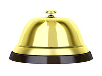 Golden reception bell