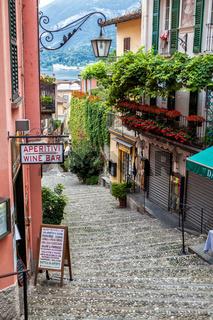 View of Bellagio on Como lake