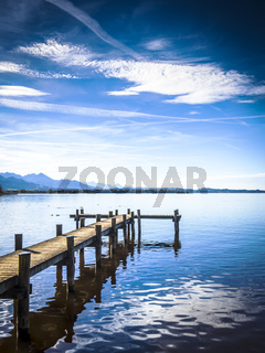 Jetty at the Chiemsee