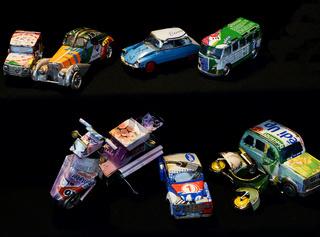 Modellautos Marktstand