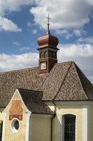 Die Marienwallfahrtskapelle Patronin Schmerzensmutter Maria in Klingenzell