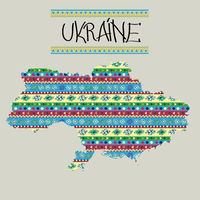 New Ukraine map