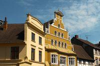 Oldtown in Wismar, Germany