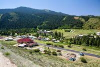 Jety Oguz health resort. Kyrgyzstan