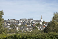 Townview of Arnsberg, Germany