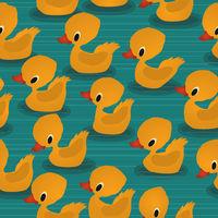 Baby ducks pattern