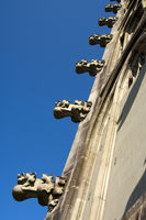Crockets, Gothic decorative elements, Bern Minster