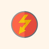 Electric Flat Icon