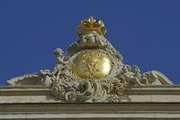 Preußischer Adler mit Krone auf dem Dank des wiedererbauten Stad